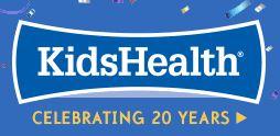 Kid's Health link